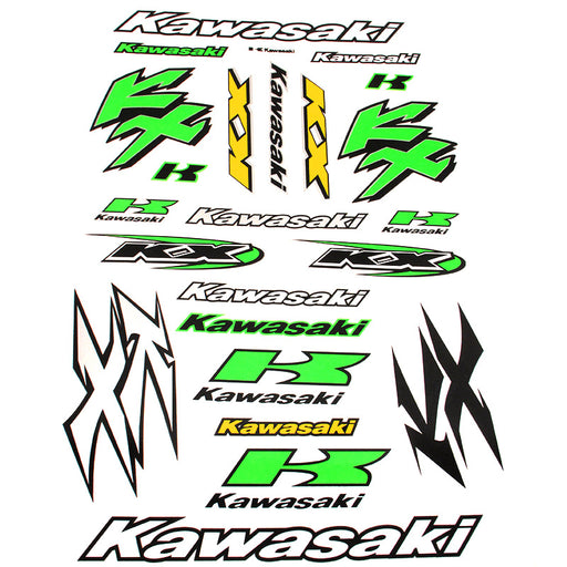 STICKER SET KAWASAKI KX