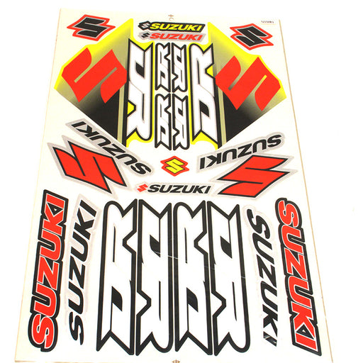 STICKER SET SUZUKI DR