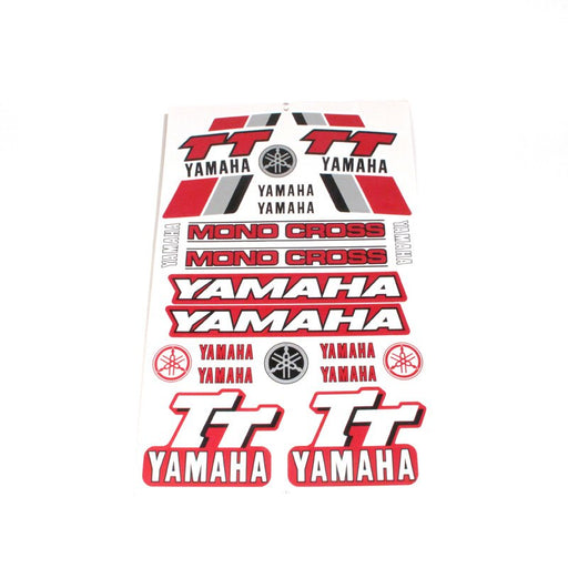 STICKER SET YAMAHA TT MONOCROSS
