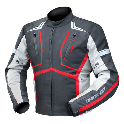 DRIRIDER STRADA JACKET - BLACK / GREY / BLACK