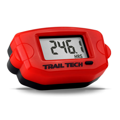 TRAIL TECH - TTO - TACH / HOUR / CLOCK METER - RED