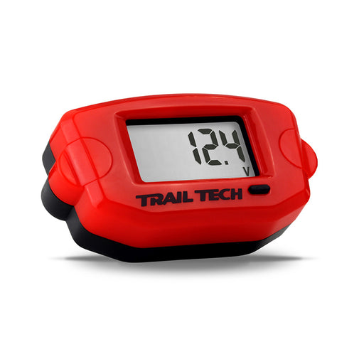 TRAIL TECH - TTO - VOLT METER - RED