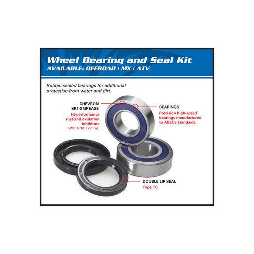 WHEEL BRG KIT REAR 25-1737 KTM SX/SXS/XC 85 03-