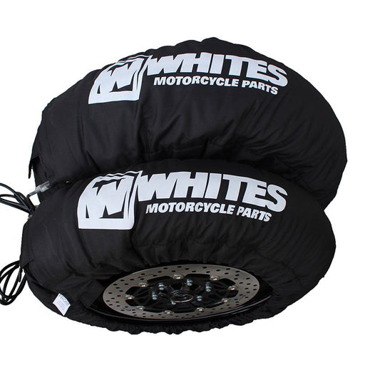 WHITES D3 3-SWITCH TYRE WARMERS - BLACK