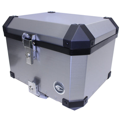 COOCASE X1 38L ALUMINIUM TOP BOX (WITH MOUNT PLATE)