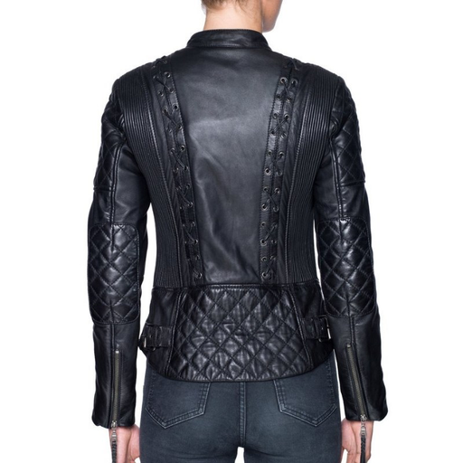 BLACK ARROW AIN'T NO SISSY MOTORCYCLE JACKET LEATHER