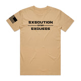 Execution over Excuses - Colors