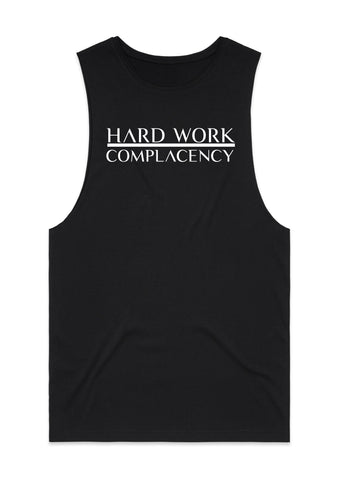 Hard Work Muscle Tank -Black
