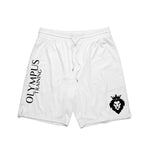 Olympus Training Shorts White