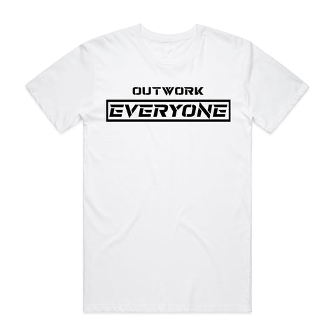 Outwork Everyone Tee - White