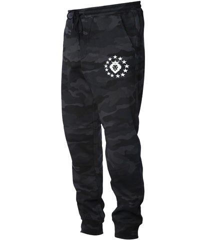Patriot Joggers - Black Camo