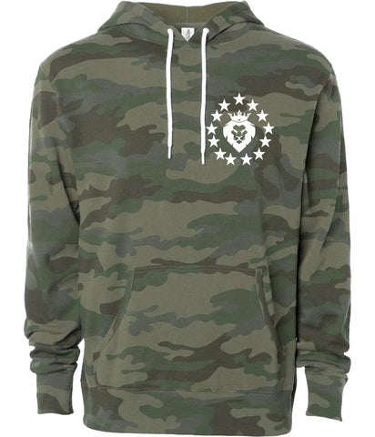 Patriot Hoodie - Forest Camo