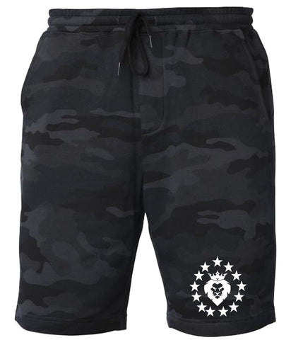 Patriot Shorts - Black Camo