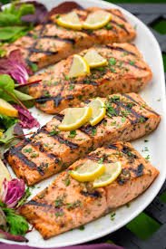 Mojito-Lime Spiced Salmon, DINNER