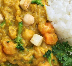 Slow Cooker Chicken Curry, LUNCH