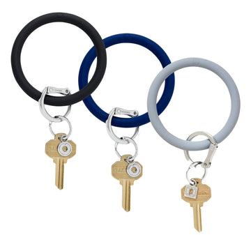 Silicone Big O Key Ring - Neutral Collection