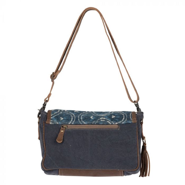 Myra Blue Valentine Shoulder Bag