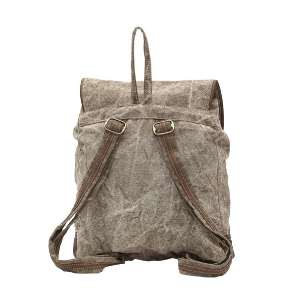 Leather Pocket Backpack - MYRA Bag