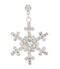 Sparkle Snowflake Earrings