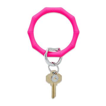 Silicone Big O Key Ring - Bamboo Collection