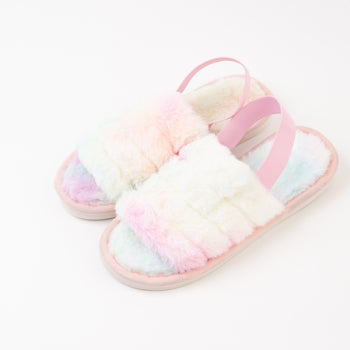 Cotton Candy Slippers