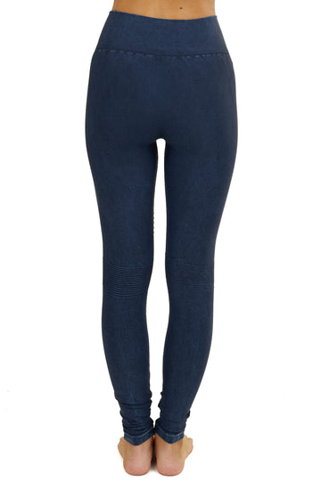 Nikibiki Moto leggings in Denim