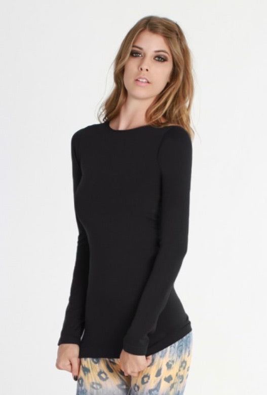 Nikibiki Long Sleeve Crew Neck