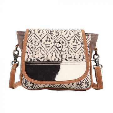 Monochrome Messenger Bag  - MYRA Bag