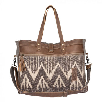 Hot Brownie Weekender Bag  - MYRA Bag