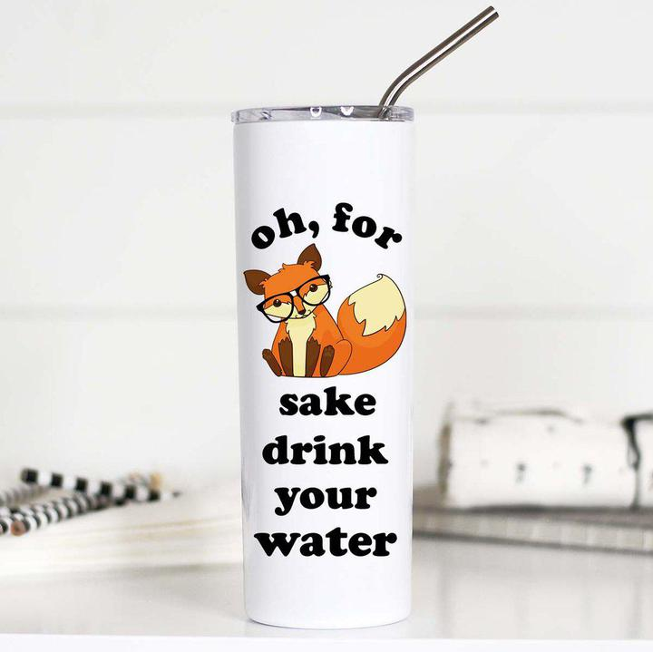 Tall Travel Cup For Fox Sake