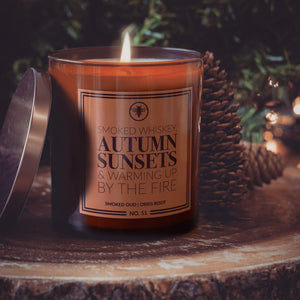Autumn Sunsets Candle