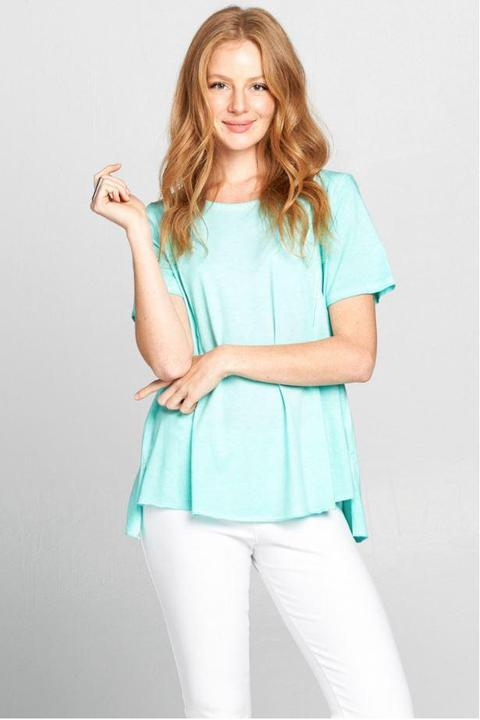Mint Cotton Tee
