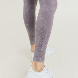 Waves and Crosses Mono B Legging