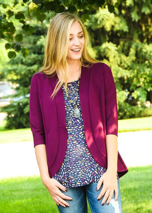 Princess Seam Blazer