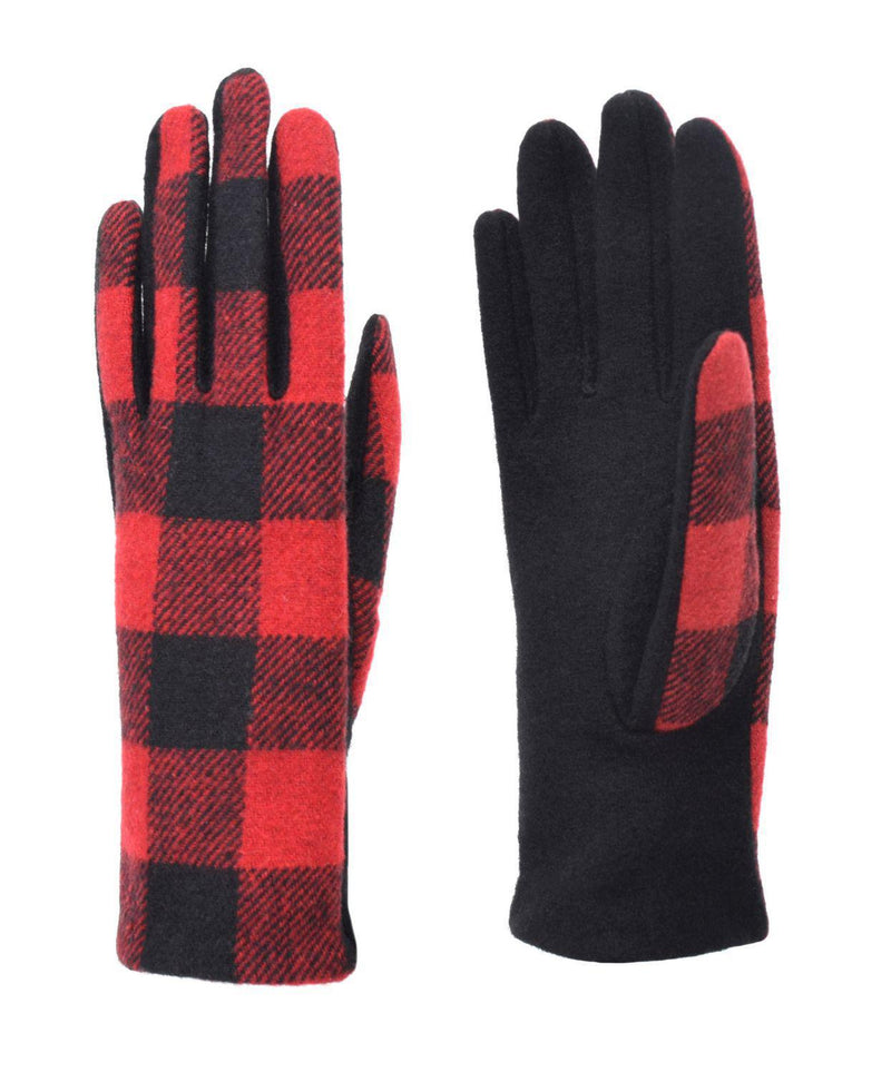 Gloves Buffalo Plaid