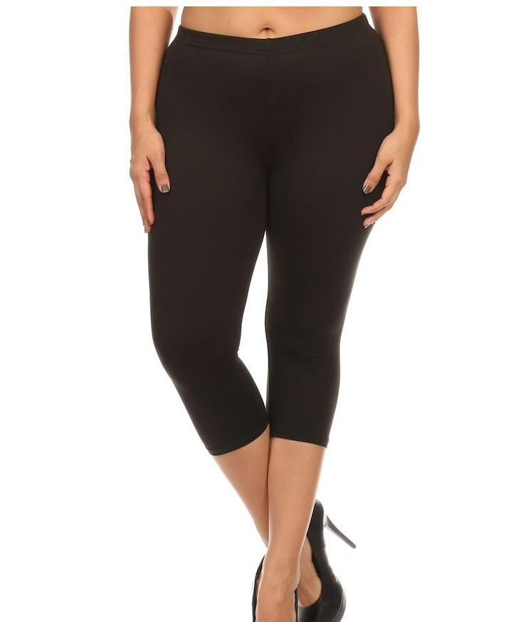 New Mix Black Legging Capri