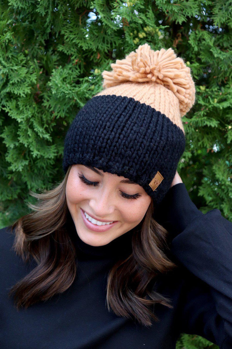 Black and Tan Pom Hat