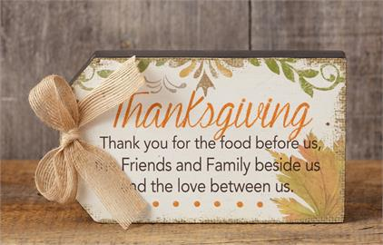 Tag Sign, Thanksgiving