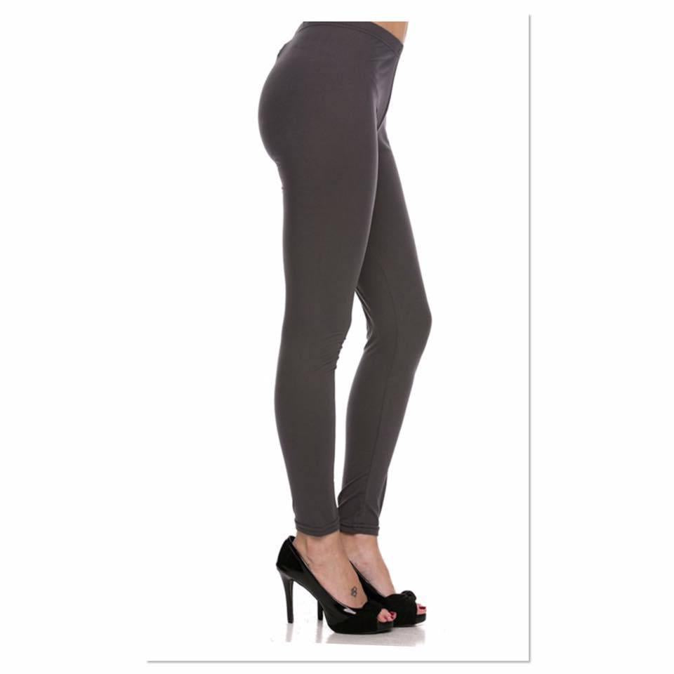 New Mix Grey Soft Brushed Legging