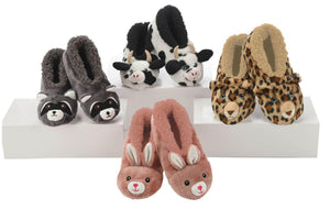 Snoozies Furry Critter Slippers
