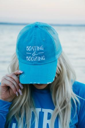Boating & Boozing Hat