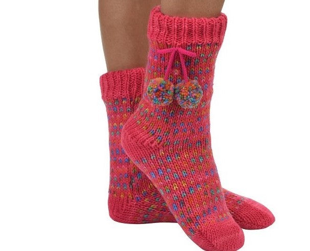 Snoozies Sherpa Lined Socks