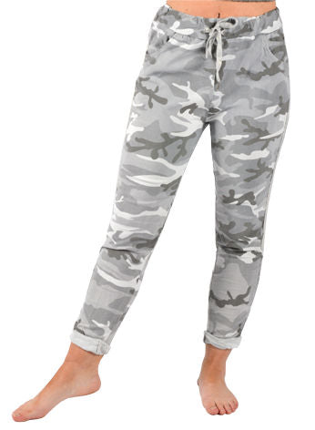 Lillywhite Grey Camo Jean