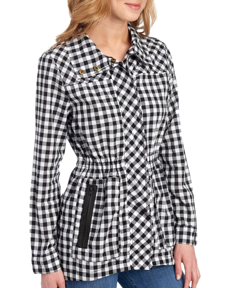 Checker Zip Jacket