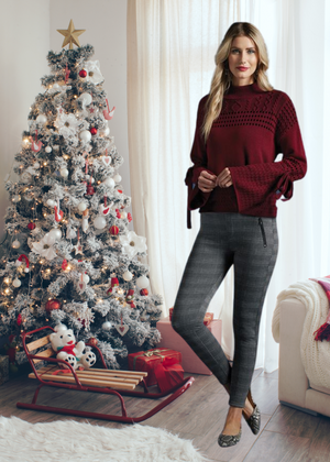 Cranberry Bell Sweater