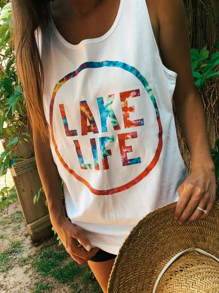 Lake Life Tie Dye Unisex Tank *Preorder Expected 5/27*