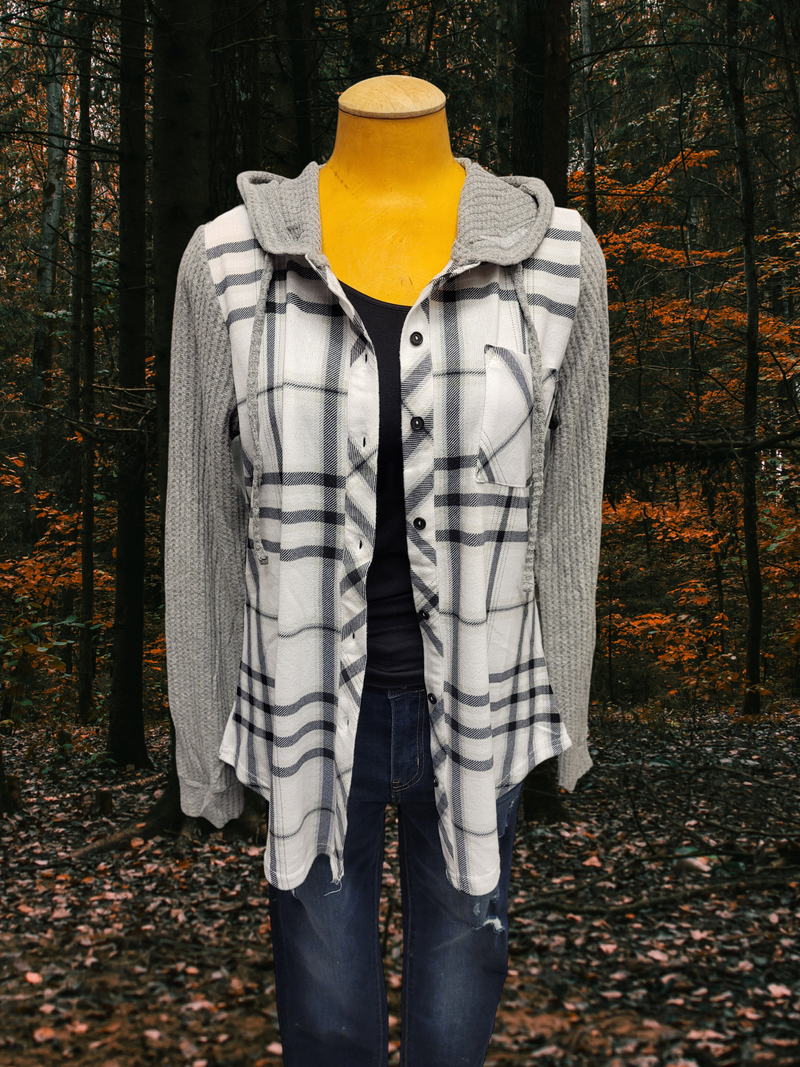 Passport Hooded Plaid