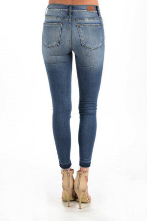 Judy Blue Buffalo Patch Skinny Jean