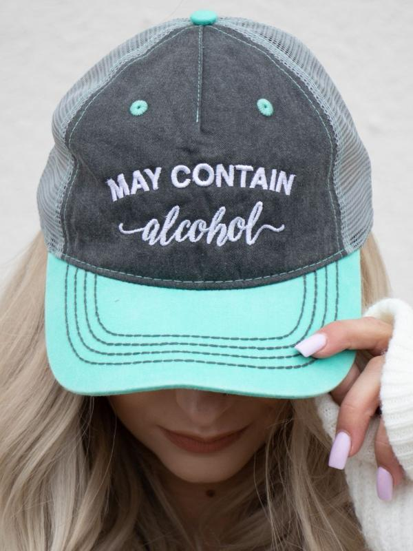 OS May Contain Alcohol Hat