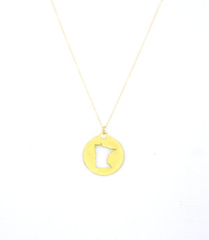 MN Round Necklace